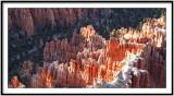 Sunset on Bryce Canyon