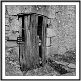Vieille door in Limeuil
