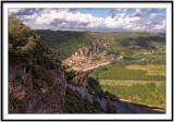 La Roque-Gageac panorama