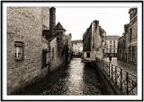 Quimper. Pont Médard, 6ème entrée de la ville fortifiée
