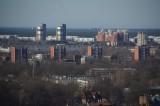 View from Swedbank on Imanta