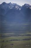 Mission  Mountain Range Montana