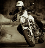 Me on the Duc....the last ride...