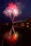 Fire palms. 2015 Rockford Fireworks