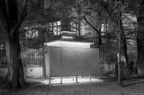 altes öffentliches Pissoir, Wien