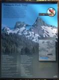 Pinnacle Peak Trailhead at Relection Lake