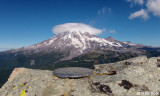 Mt Rainier from Pinnacle Peak - 6562 ft