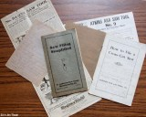 Vintage Saw Manuals and Notes