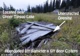Hazardous Condition - Tipsoo Abandoned Cistern