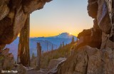 Sunrise over Mt Adams