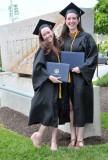Emily & Britt Rae, Freshman Roommates