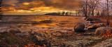Sunfall Over Champlain