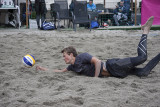 Sandvolleyball and gatefotball