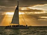 Sunset Catamaran