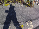 8 July 2013 - an accidental selfie of my shadow