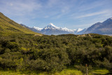 20 Dec 2013 - a last look at Aoraki Mt Cook as we leave