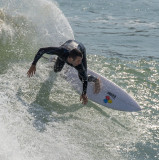 Surfing at Wellington