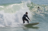 18 January 2014- Surfing at Lyall Bay, Wellington