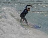 18 Jan 2014 - Surfing at Lyall Bay, Wellington