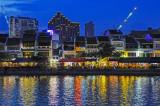 Hong Kong and Singapore