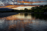 Sunrise on the Otaki River