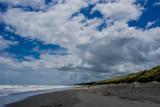 2 January - A walk along Otaki Beach looking north