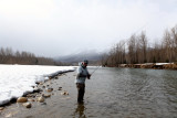 March 29-30, 2014 --- Elk River and Edwards Lake, British Columbia