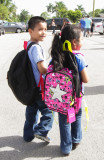 THE WAY MIAMI HELPING FAMILIES AND THE CHILDREN WITH SUPPLIES AND BACKPACKS FOR BACK TO SCHOOL ON AUG 17,2014