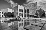Getty Center in Black & White