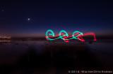 Light Painting in Encinitas