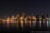 San Diego Sklyine from Coronado