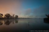 Fog Lifting at Sunrise