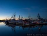 G Street Pier at Dawn