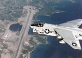 A-7E Over Pt. Salines