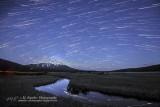 Star Trails over Mt Bachelor