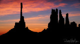 Totem Sunrise Silhouette