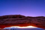 Mesa Arch Star Trail