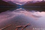 Last Light - Bowman Lake