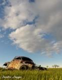 Badlands Rusted Car #2