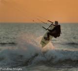 Kiteboarding Action