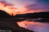 Sunrise over the Madison River