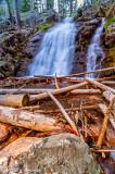 Memorial Falls Lumber Pile