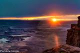 White Rim Sunset I