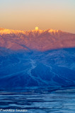 Moonset over Telescope Peak
