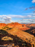 Capitol Reef Sunset From The Chimney Rock Trail II