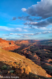 Capitol Reef Sunset from The Chimney Rock Trail