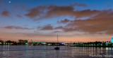 Sunset at Long Beach Harbor