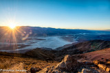 Sunset over the Panamint Range