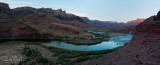 Panorama from above Tanner Camp - River Mile 68.7
