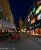 Munich Blue hour